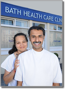 Satyen is an Osteopath in Bath the Healthcare Clinic, is very welcoming, clean, light and airy, a perfect location to be completely relaxed during your consultation